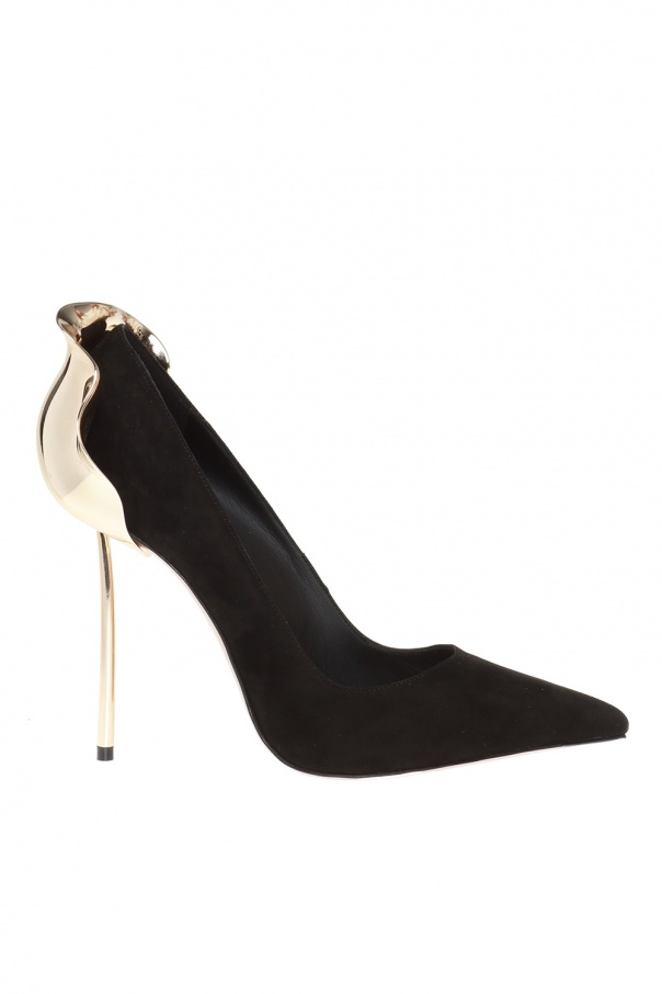 'petalo' embellished stiletto pumps od Le Silla
